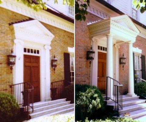 simple porch addition