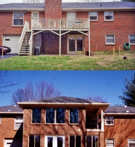 enclosed porch addition