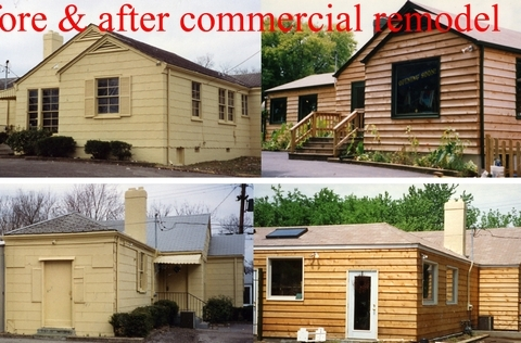 Commercial remodel