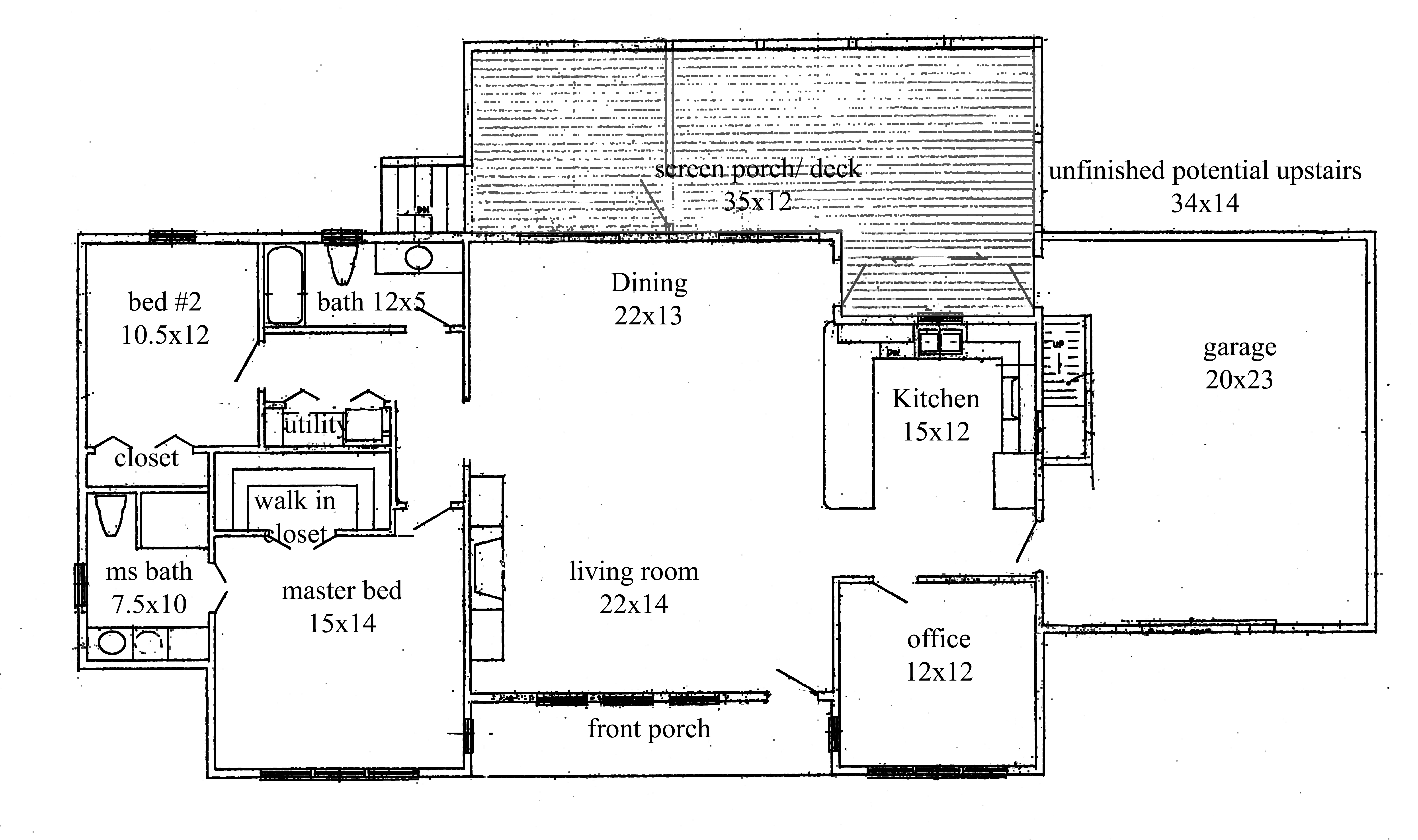 House plans new construction home floor plan for House construction plan